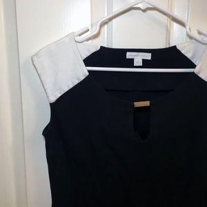 NEW YORK & COMPANY Dress - Black and White Dress